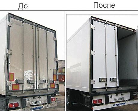 Изотермические фургоны: особенности ремонта